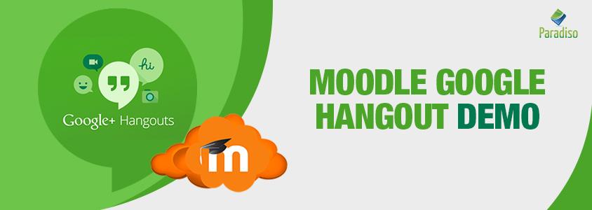 Moodle Google Hangout Demo