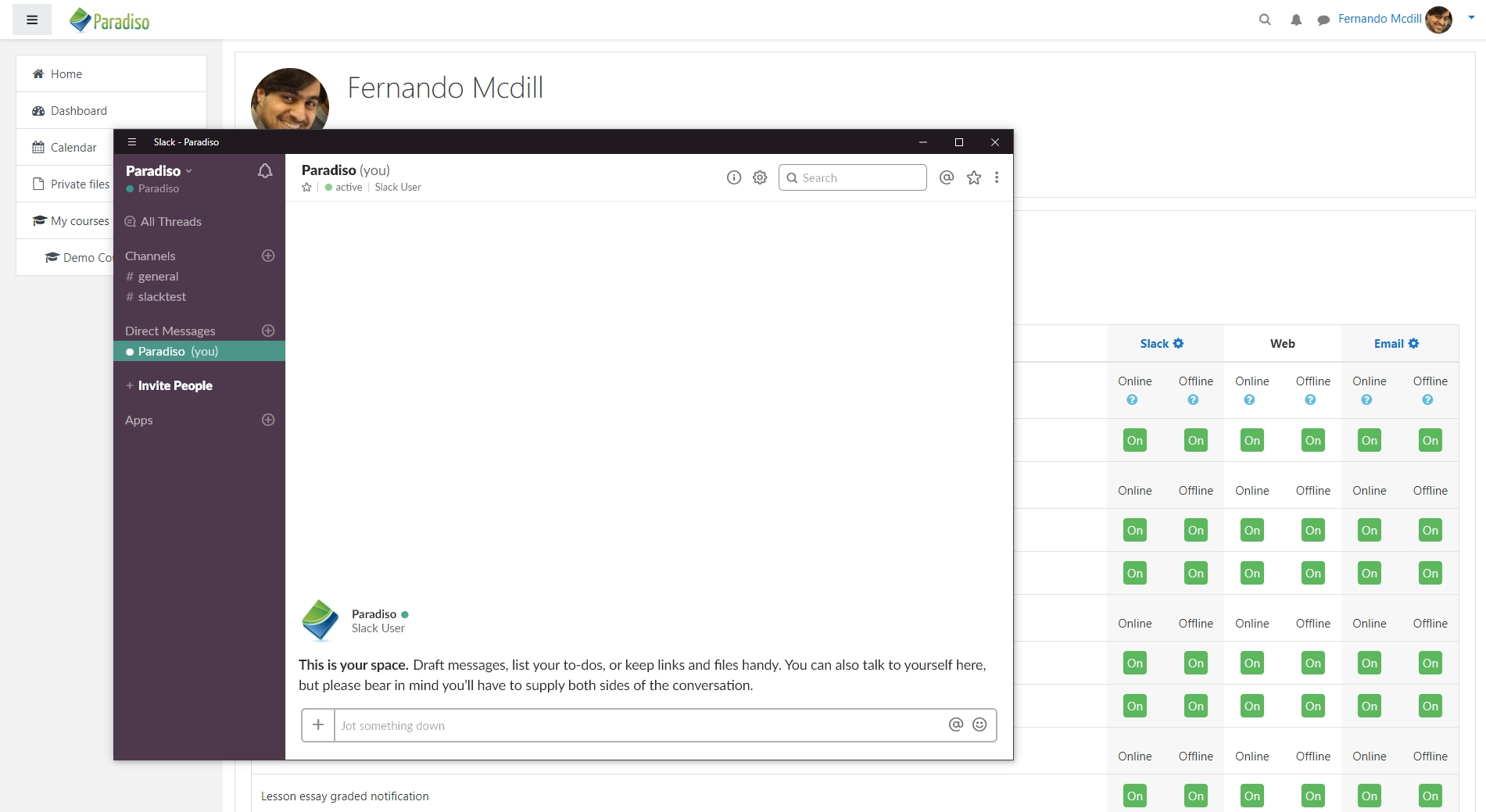 Moodle Slack integration the perfect ally to engage your students