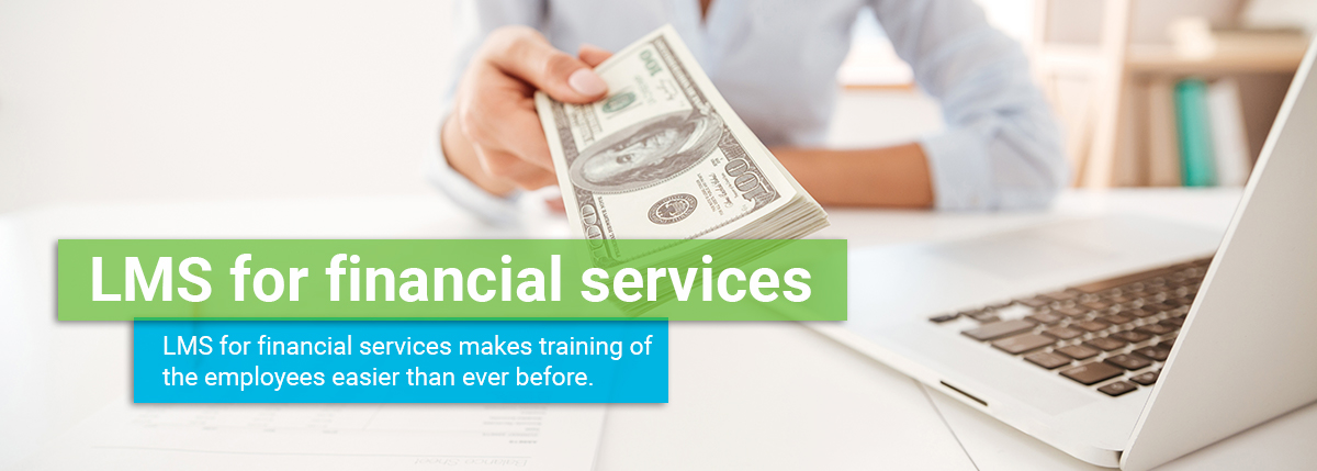 LMS for financial services