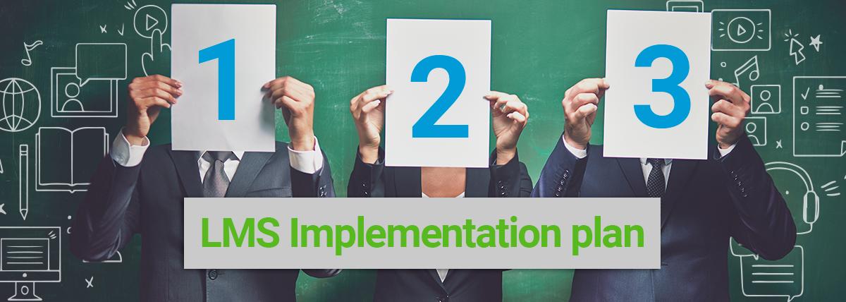 LMS Implementation plan - banner