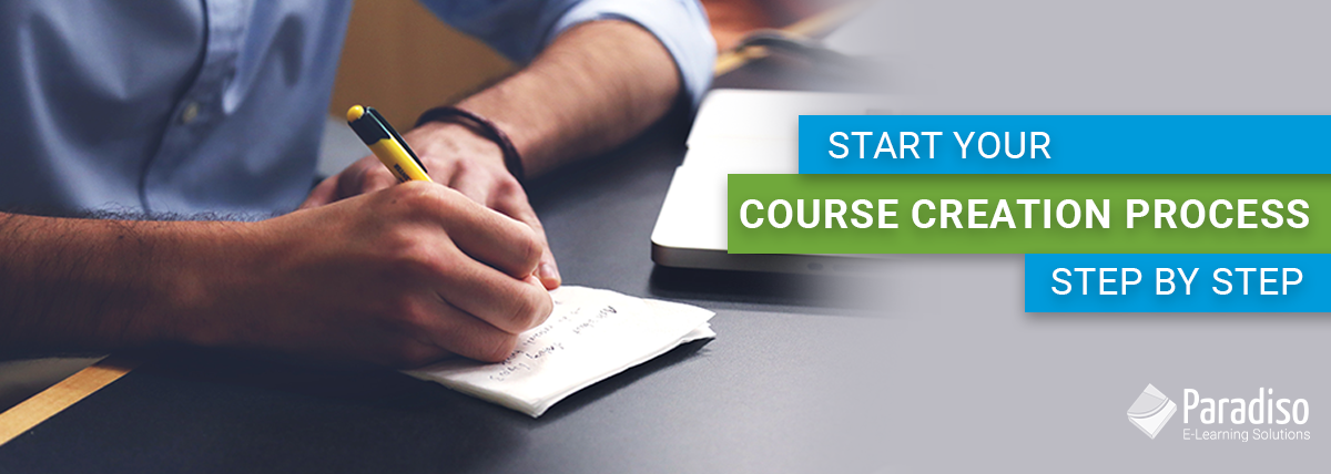 course creation process step by step