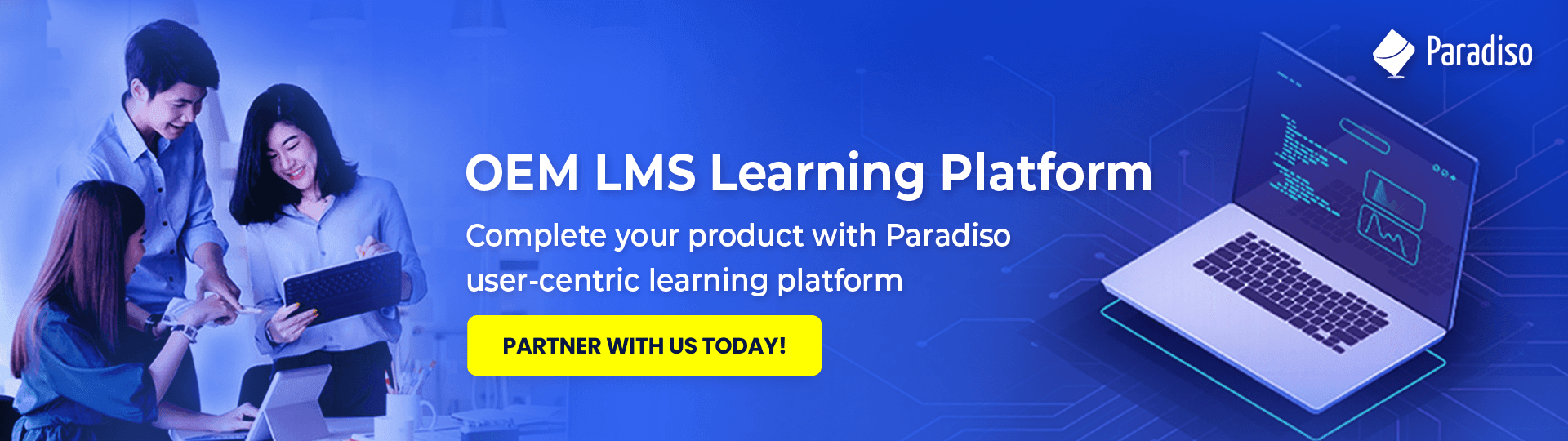 Resell Paradiso's OEM LMS as part of your own software suite