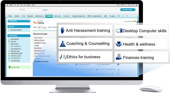 elearning platform training for SSO + Social Sign in