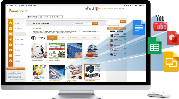 Multi Tenant customer emloyee partner training platform LMS