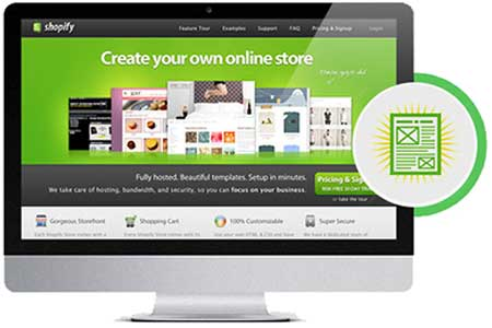 custom built online store shopify paradiso lms