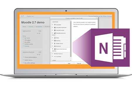 Moodle Office OneNote