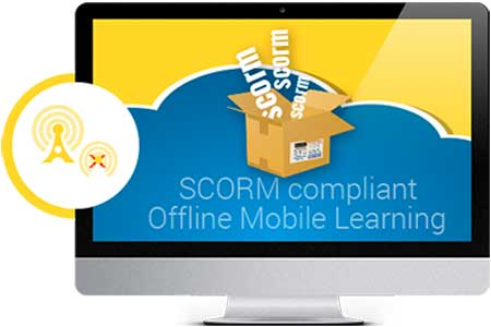 scorm compliant offline mobile learning