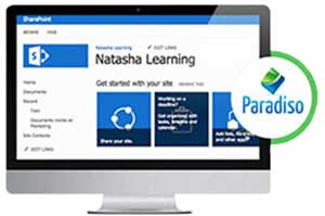 content creation sharepoint paradiso lms