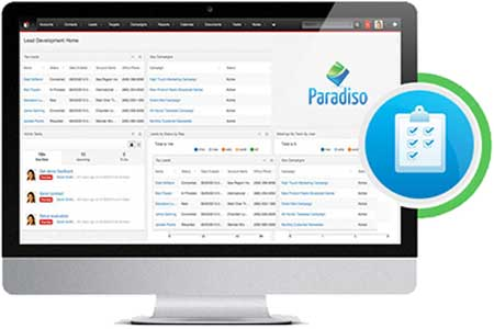 paradiso lms records data sugarcrm