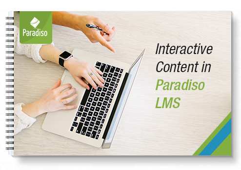 Interactive Content in Paradiso LMS