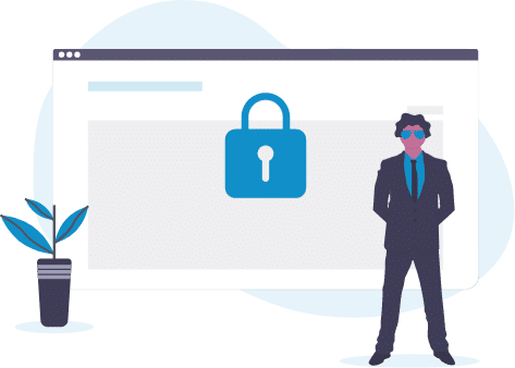Encrypted and secure LMS integration