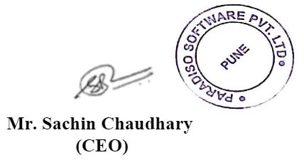Sachin Chouhdari Sign