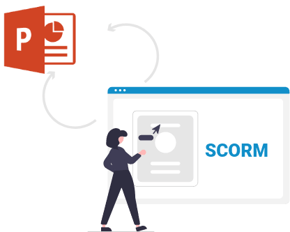 eLearning Authoring Tool -Convert PowerPoint to SCORM Easily