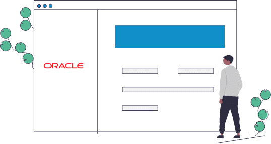 LMS Courses Embedded in Oracle